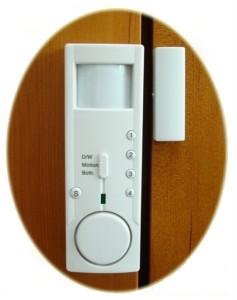 installe contre les portes lalarme de porte est gnralement mise en place lextrieur du domicile notamment la porte dentre porte de garage - Alarme Porte D Entre