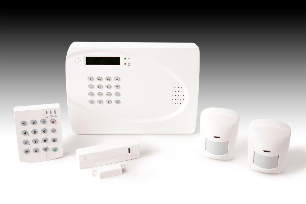 Une alarme sans fil for Alarme maison iphone